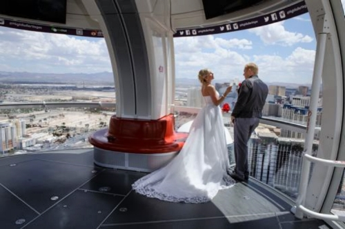 High Roller Wedding