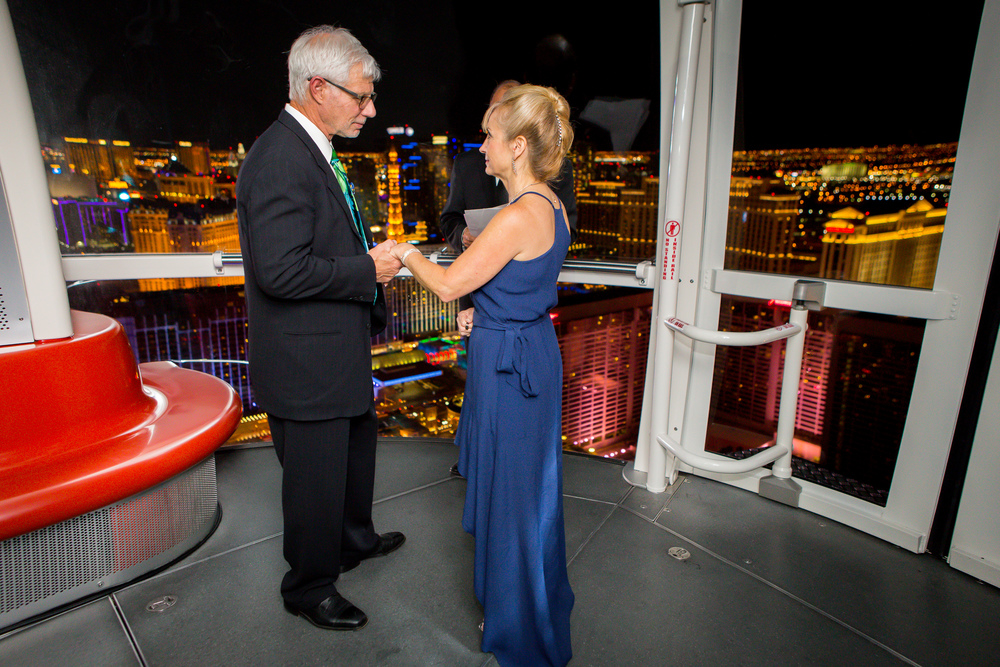Renewal of Vows on The High Roller