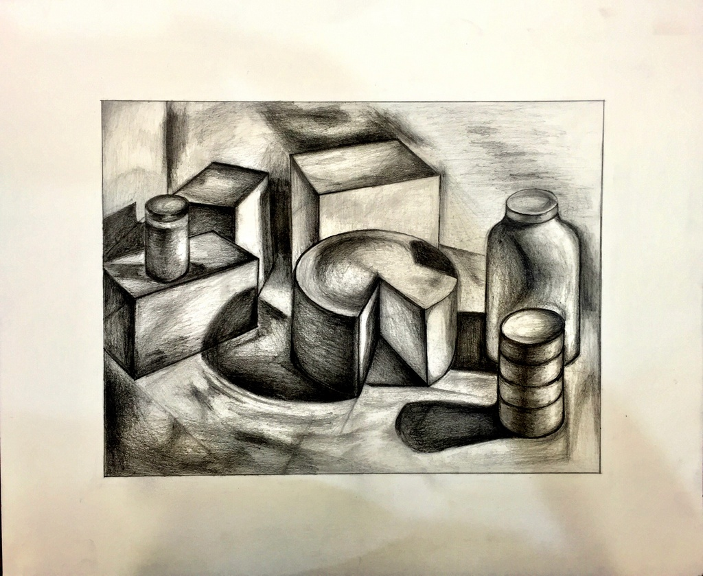 drawing 2: shape and form - friday, may 10th 5:30 - 8:00pm — petite
