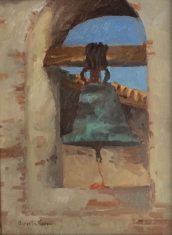 The Bell at the Mission 12x16