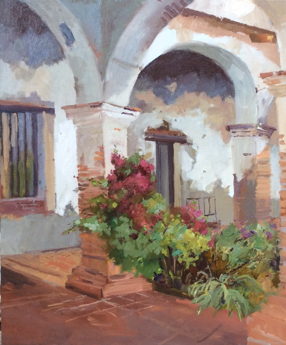 Arches and Flowers 18x24