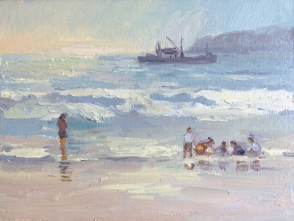 Sunday Afternoon Beach Day 8x10