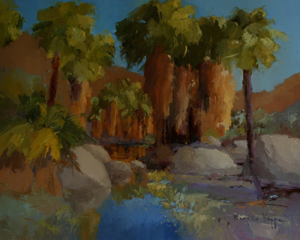 Indian Canyon 24x30