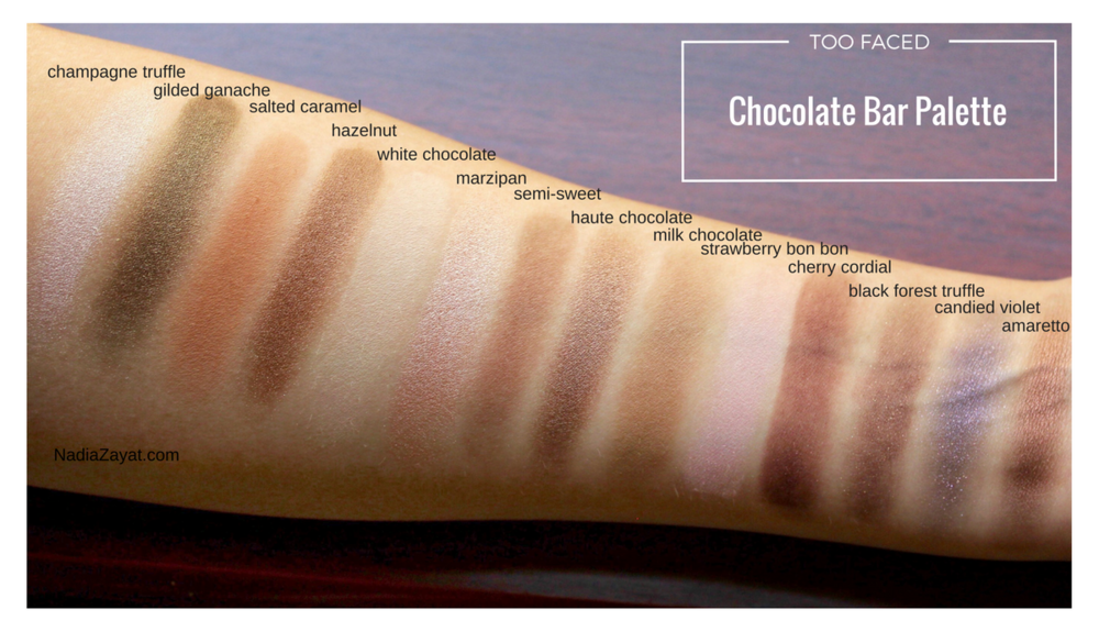 Too Faced Chocolate Bar Palette Review 2