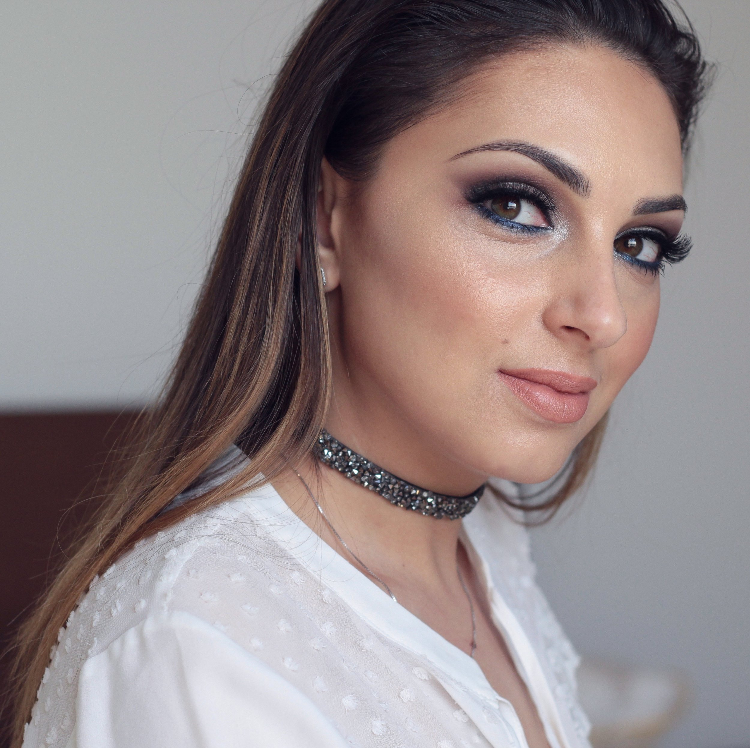 Post nadia zayat get the look winter silver makeup tutorial video baditri Choice Image