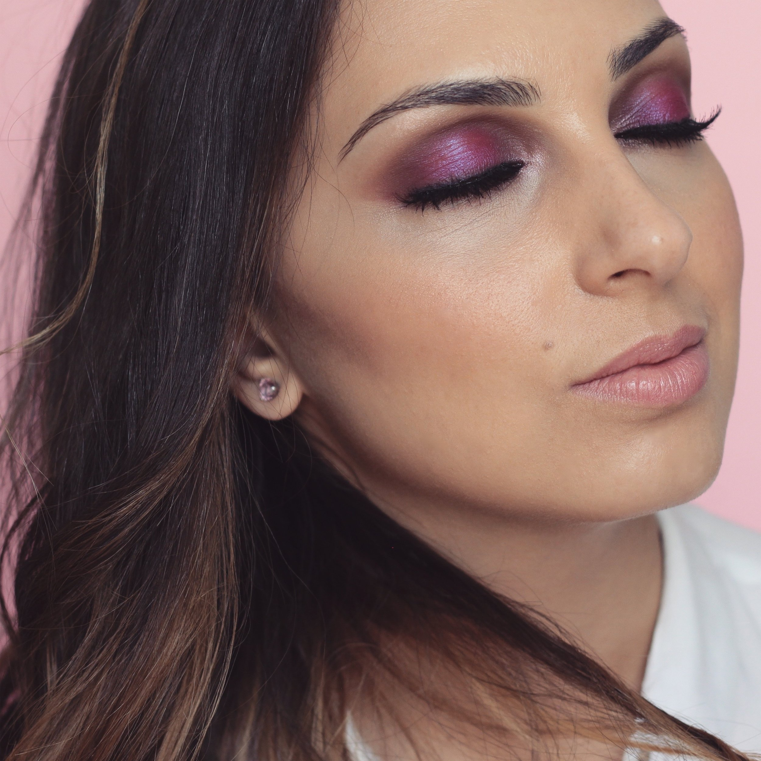 Post nadia zayat oct 30 pink makeup for breast cancer awareness month video baditri Choice Image