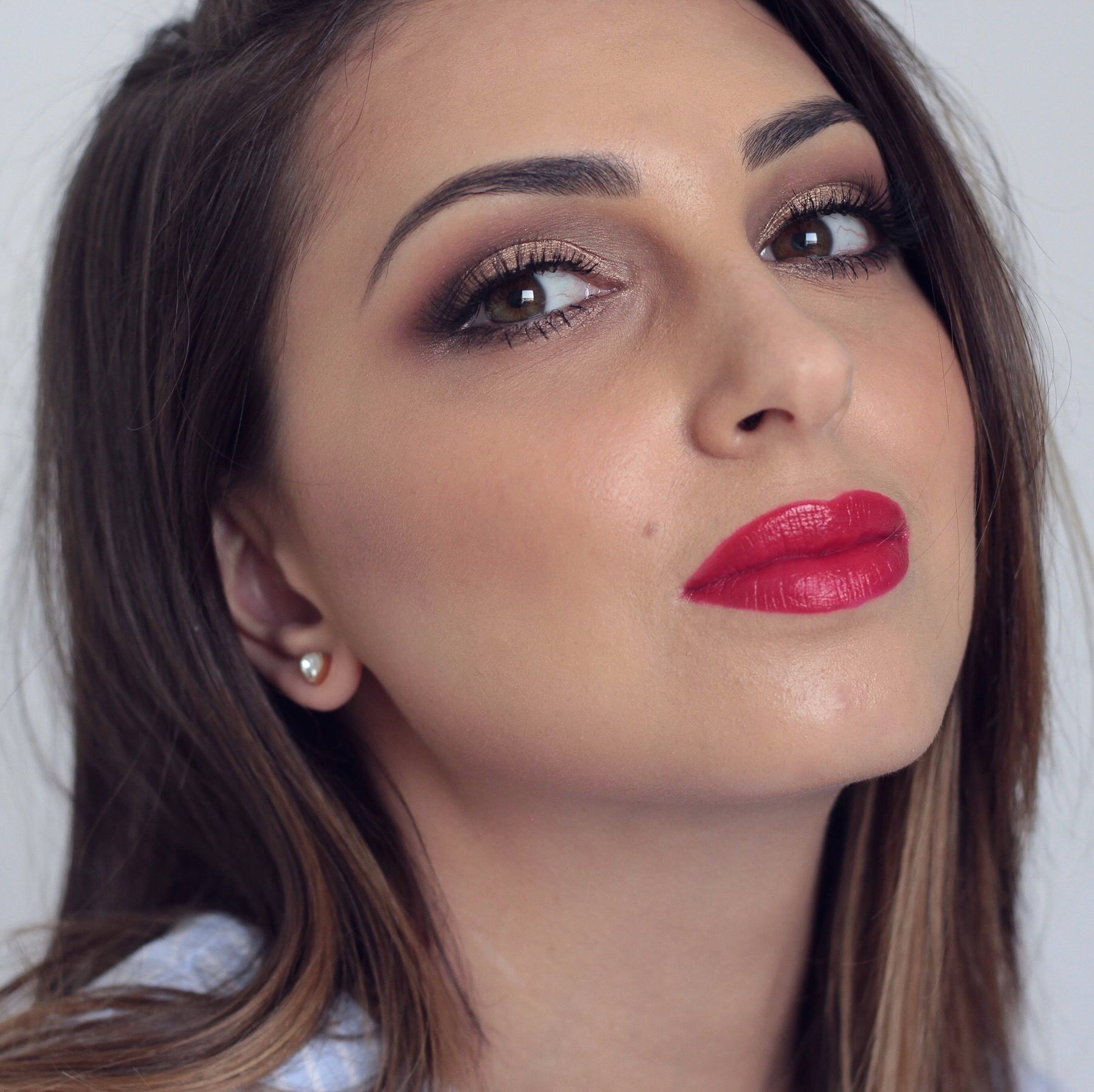 Post nadia zayat get the look red lips makeup tutorial 2018 video baditri Choice Image