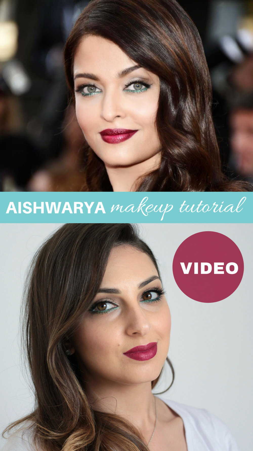 Aishwarya Rai Makeup Tutorial