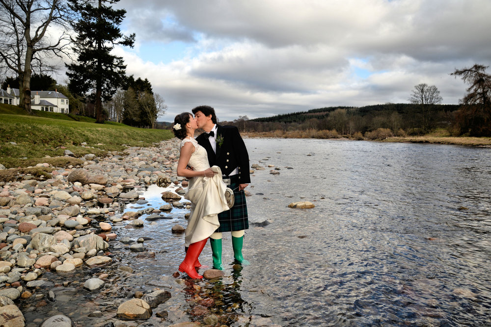 Louise and Douglas - Banchory Lodge