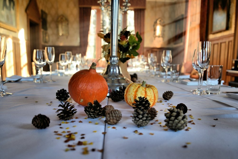 autumn wedding - lunga house
