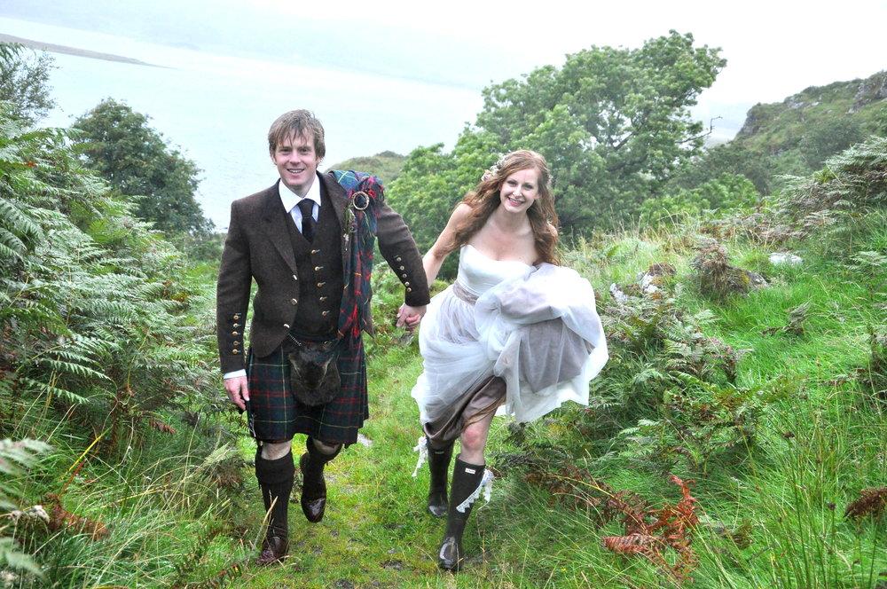 Wild wedding - Argyll