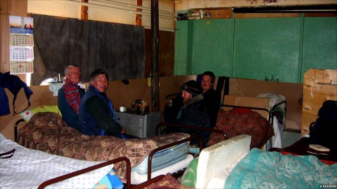 Vostok Station Sleeping Quarters