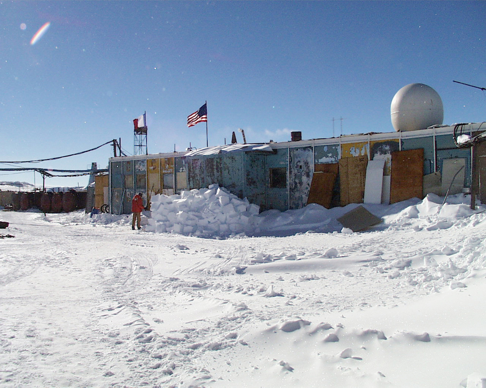 Vostok Station Shelter