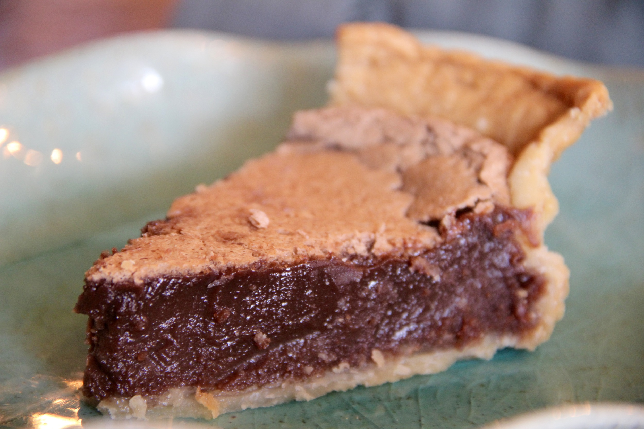 Chocolate Chess Pie — Hello Spoonful