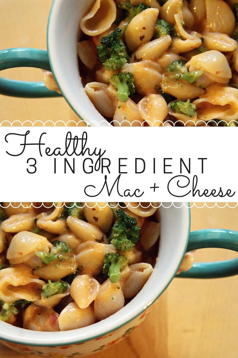 3 Ingredient Mac + Cheese