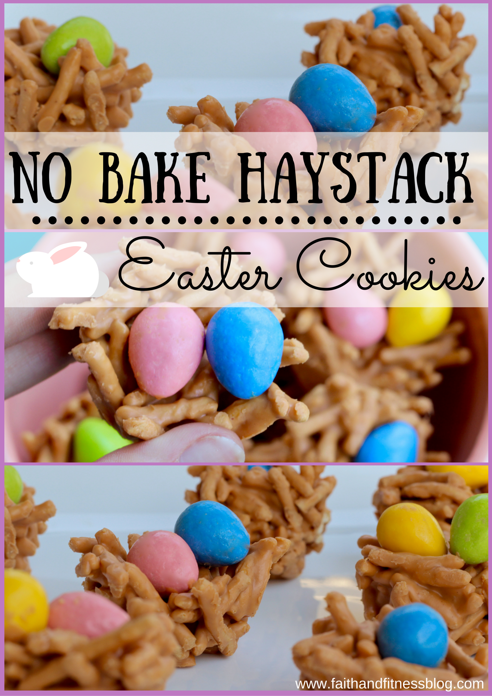 No Bake Haystack Easter Cookies