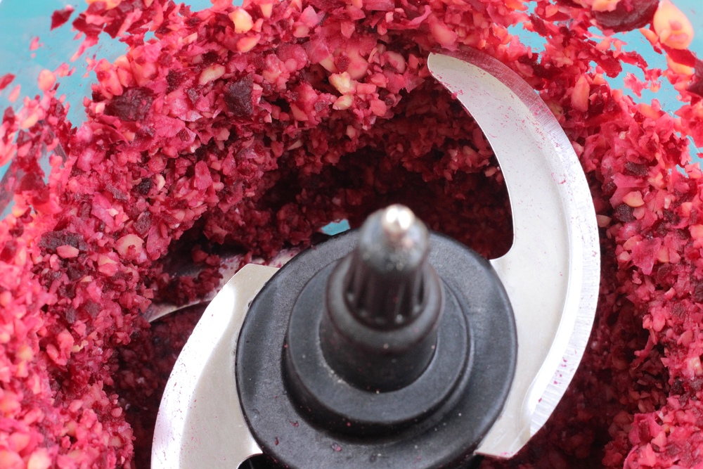 Roasted Beet Hummus Ninja Food Processor