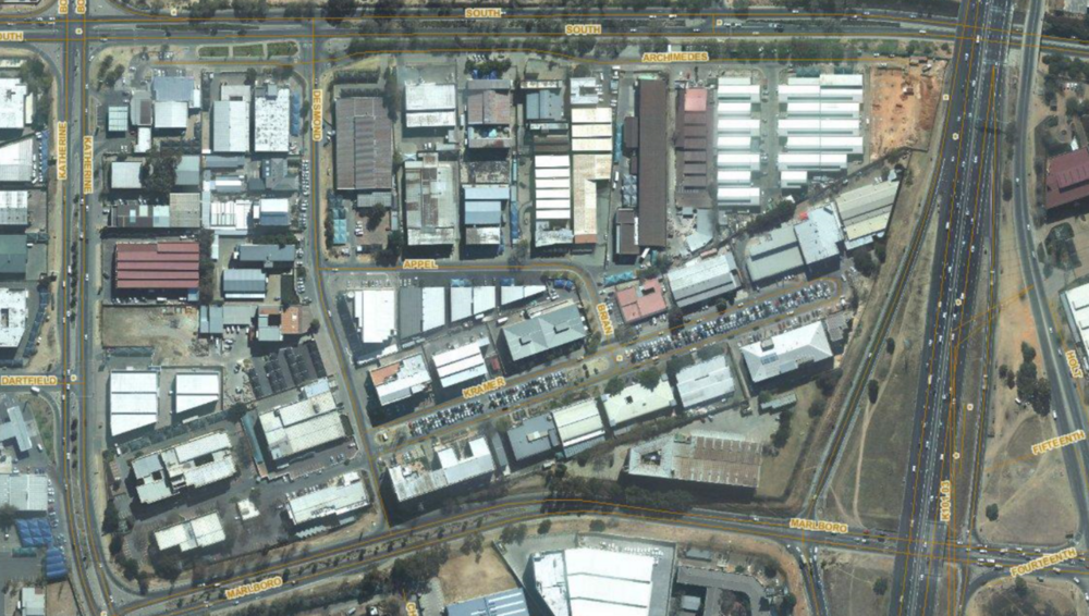 The KMD area is bordered by Marlboro, Katherine Street, South Road and the M1 Freeway.