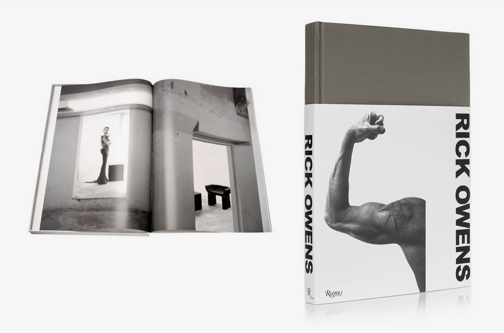 Editor and Book Designer for Rick Owens'  monograph .