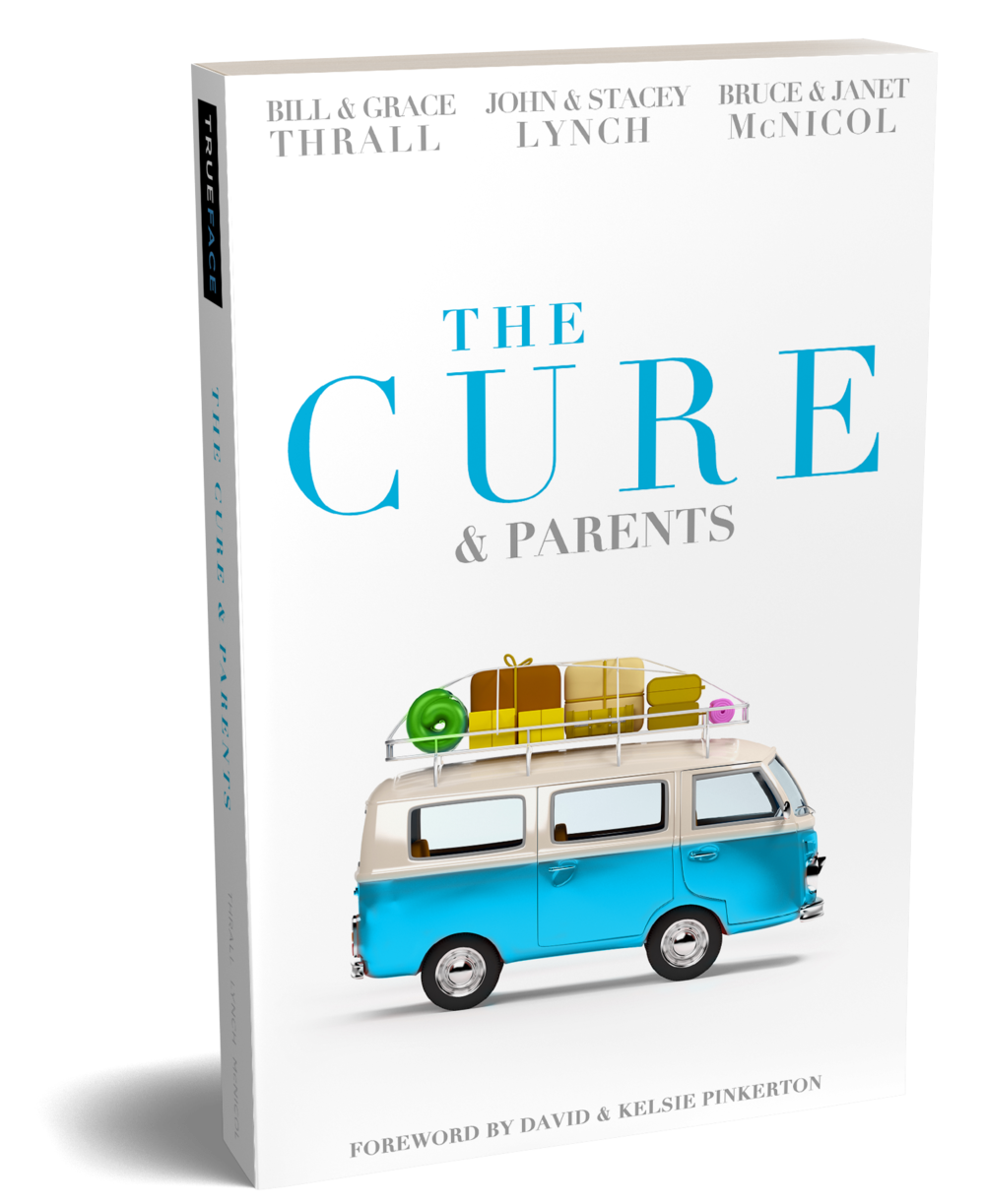 The Cure and Parents   Join the Clawson family on their summer vacation as they experience the pain of mistrust, the beauty of restoration, and the messiness of family life. Whether you are a child, parent or grandparent, this book will help you uncover more of how our family dynamics affect us.