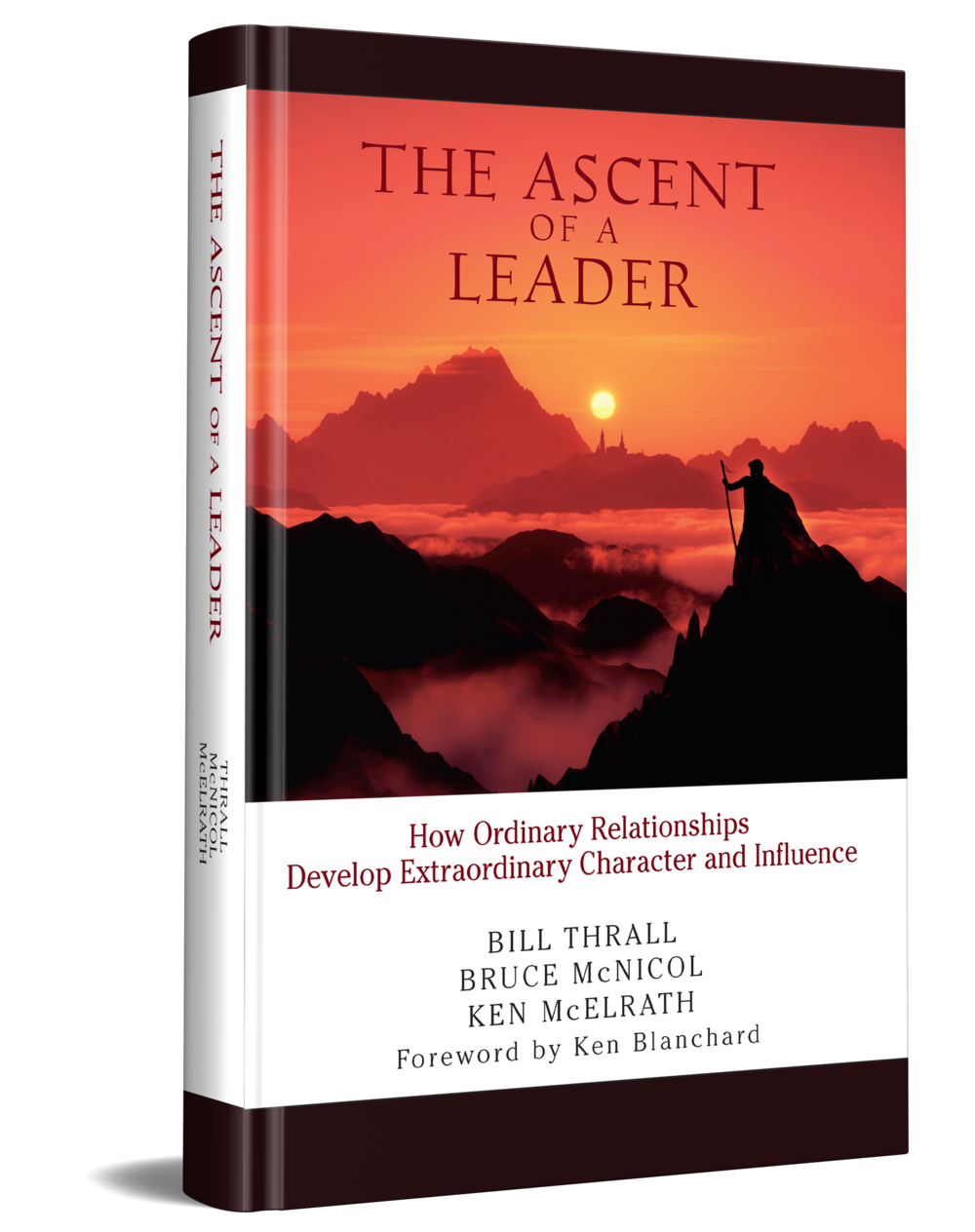 The Ascent of a Leader   This practical, visionary, and hope-filled book guides leaders through a step-by-step process for developing both personal character and a network of important relationships. Develop extraordinary character and influence and foster environments of trust for those you lead.