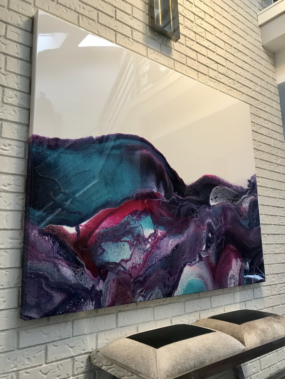 "ATLAS - 48"" x 60"" -   SOLD"