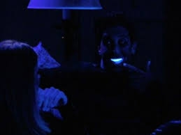 Ross Gellar's SEVERELY WHITEned teeth may be a fictitious example of teeth with zero stain molecules such that if he were to continue to whiten, his enamel would be damaged