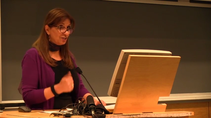 Nadera Shalhoub-Kevorkian  of the Hebrew University