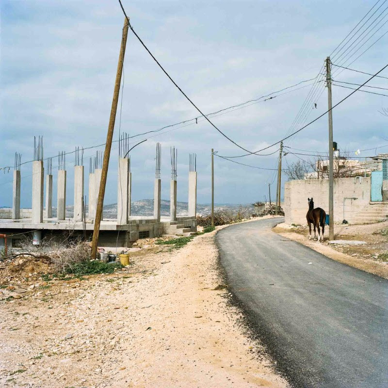 Federico Busonero,  THE LAND THAT REMAINS The road to Iskaka, Palestine,  Archival pigment print on Canson Platine paper, 90 cm x 90 cm (image size); 100 cm x 100 cm (paper size), 2009