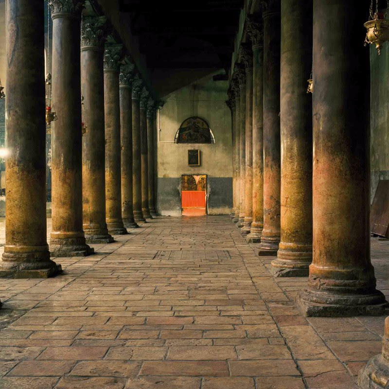 Federico Busonero,  THE LAND THAT REMAINS Church of the Nativity, Bethlehem, Palestine , Archival pigment print on Canson Platine paper, 90 cm x 90 cm (image size); 100 cm x 100 cm (paper size), 2009
