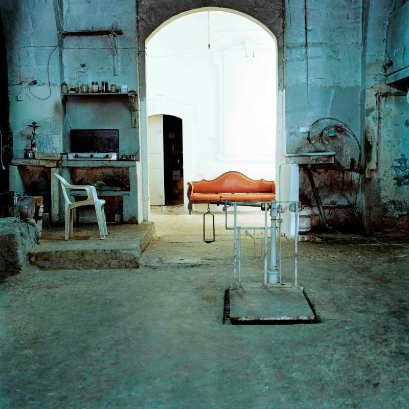 Federico Busonero, THE LAND THAT REMAINS Soap factory, Nablus, Palestine, Archival pigment print on Canson Platine paper, 90 cm x 90 cm (image size); 100 cm x 100 cm (paper size), 2009