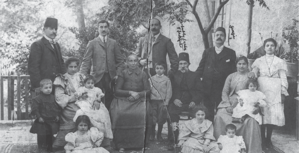The Jurgi Hanania family.  Source: Collection of the author