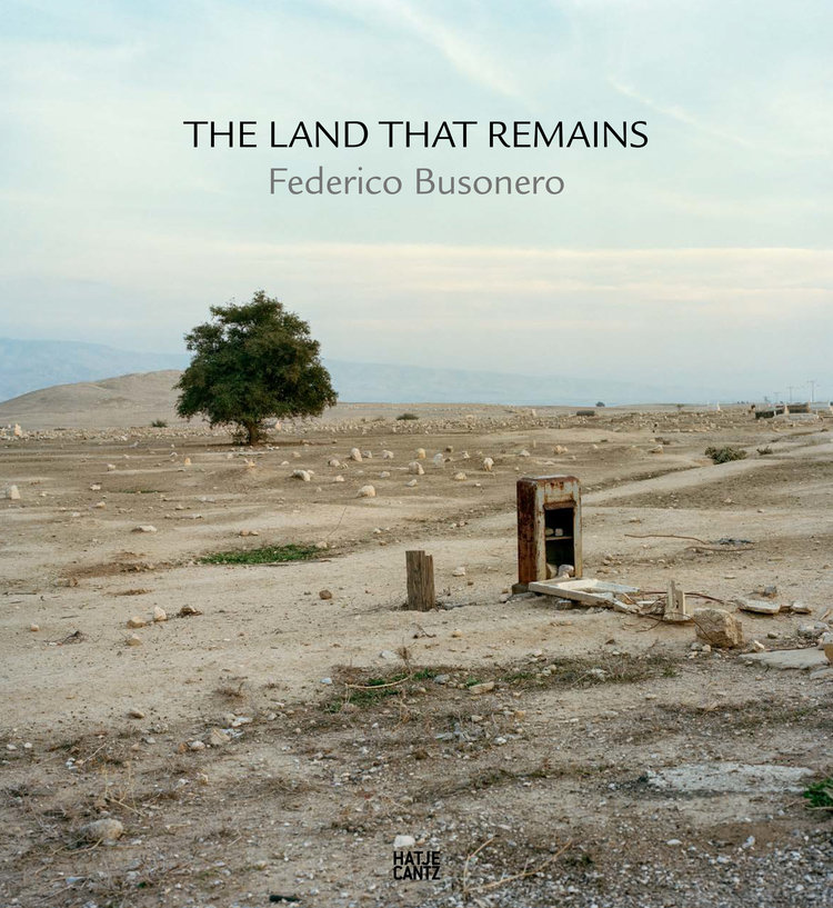 - THE LAND THAT REMAINS79 color photographs176 pagesPhotographs: Federico BusoneroPhoto editors: Anne Sanciaud-Azanza, Federico BusoneroTexts:The Solitude of the Gods - Anne Sanciaud-AzanzaThe Fourth Landscape – Giovanni Fontana AntonelliThe Land That Remains – Federico BusoneroBook design, editor, pre press: Brooks WalkerPublisher: Hatje Cantz Verlag, Ostfildern, GermanyPublication date: April 2016 First English edition