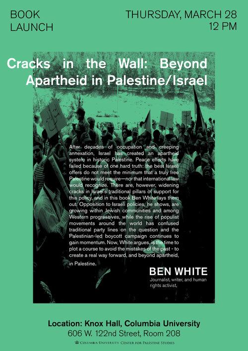 Cracks In The Wall: Beyond Apartheid Palestine/Israel