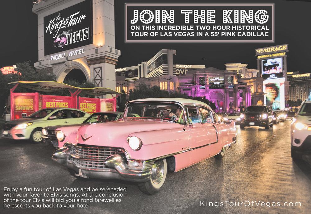 Cadillac Las Vegas >> The King S Tour Of Vegas Pink Caddy Tour Of Vegas With Elvis