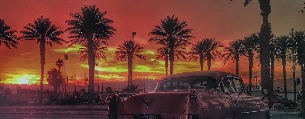 A Vegas Sunset