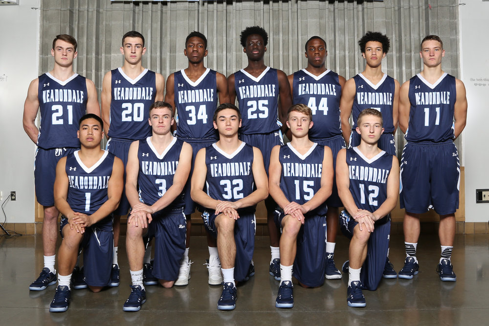 Top Row left to right: Zach Plummer, Daniel Barhoum, Justin Chambers, Mustapha Sonko, Okeoma Okoro, Xavier Meekins, Drew Tingstad; Bottom row left to right: Kingston Bactad, Will Schafer, Zach Walsh, Drew Harvey, Mason Harvey.
