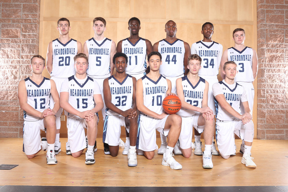 Top Row (left to right): Dan Barhoum, Nick Buckley, Mustapha Sonko, Okeoma Okoro, Justin Chambers, Will Schafer Bottom Row (left to right): Drew Harvey, Tommy Dimmock, Haben Tekle, Colton Walsh, Will McKinley, Mason Harvey