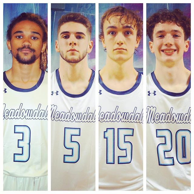 SENIOR NIGHT tonight in #TheStable, 7:15 vs Mountlake Terrace! Come out to support Ray, Nick, Tyler, and Kade in their last regular season game at MHS!