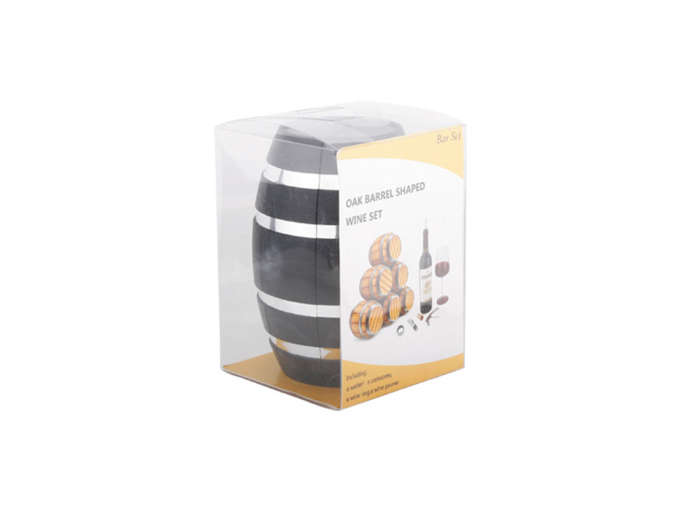 Wine Barrel w Accessories