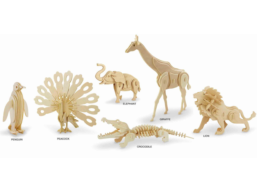 3D Puzzle - Animal