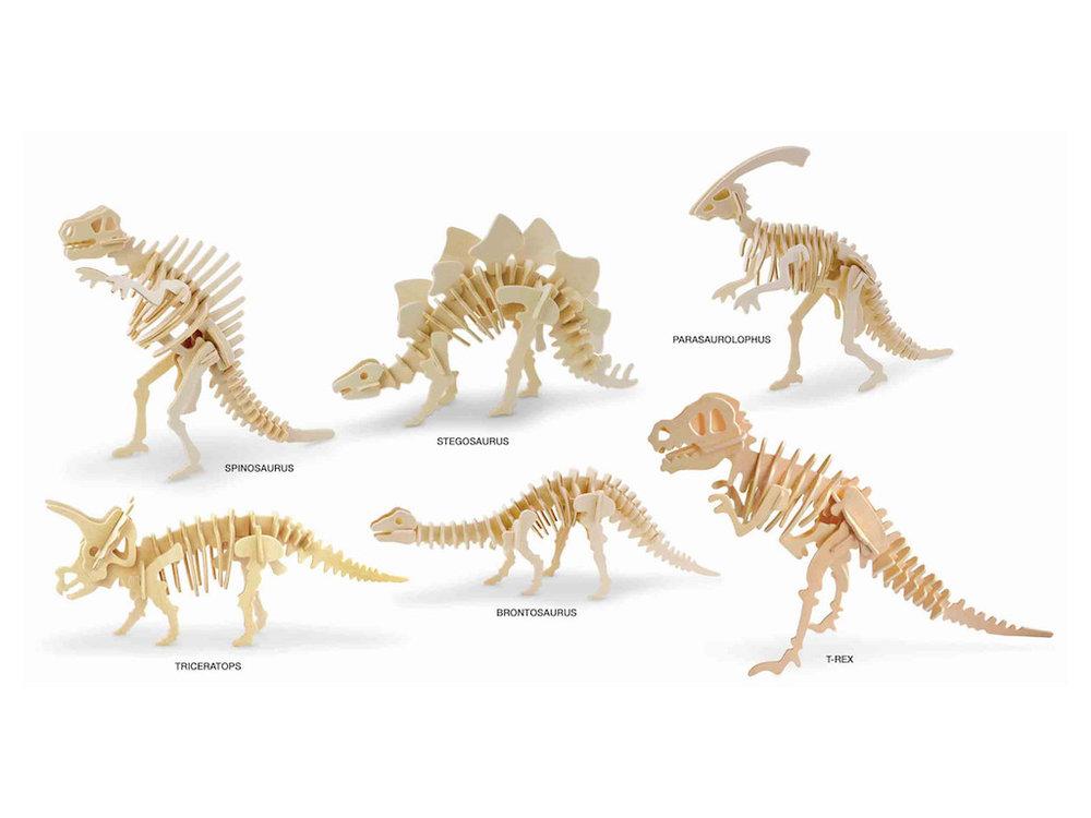 3D Puzzle - Dino