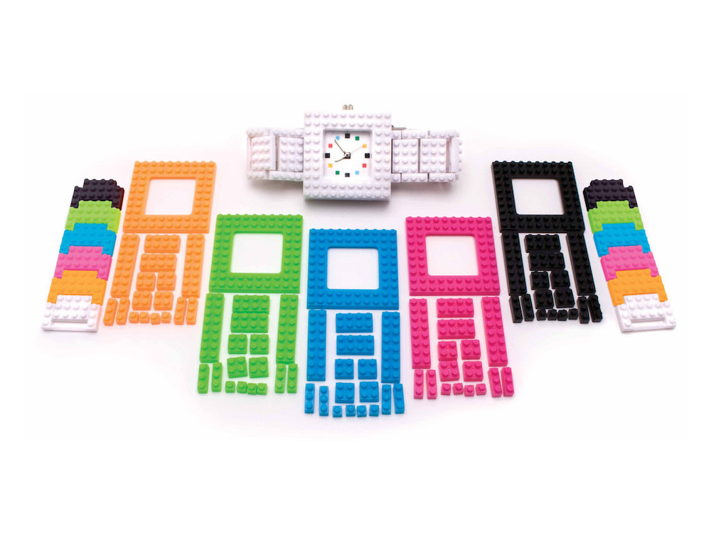 The Awesome Building Block Watch