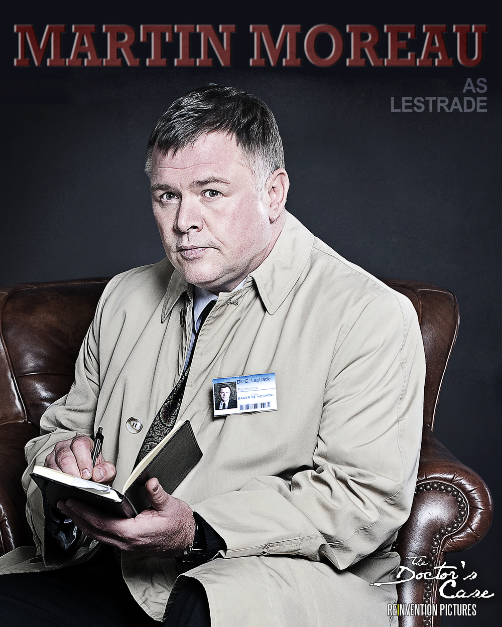 The Doctor's Case - Character Poster - Lestrade