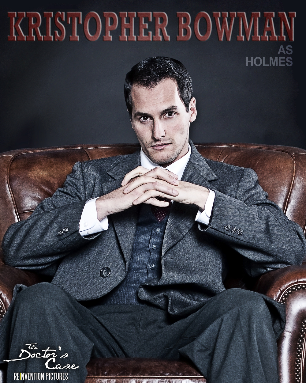 The Doctor's Case - Character Poster - Sherlock