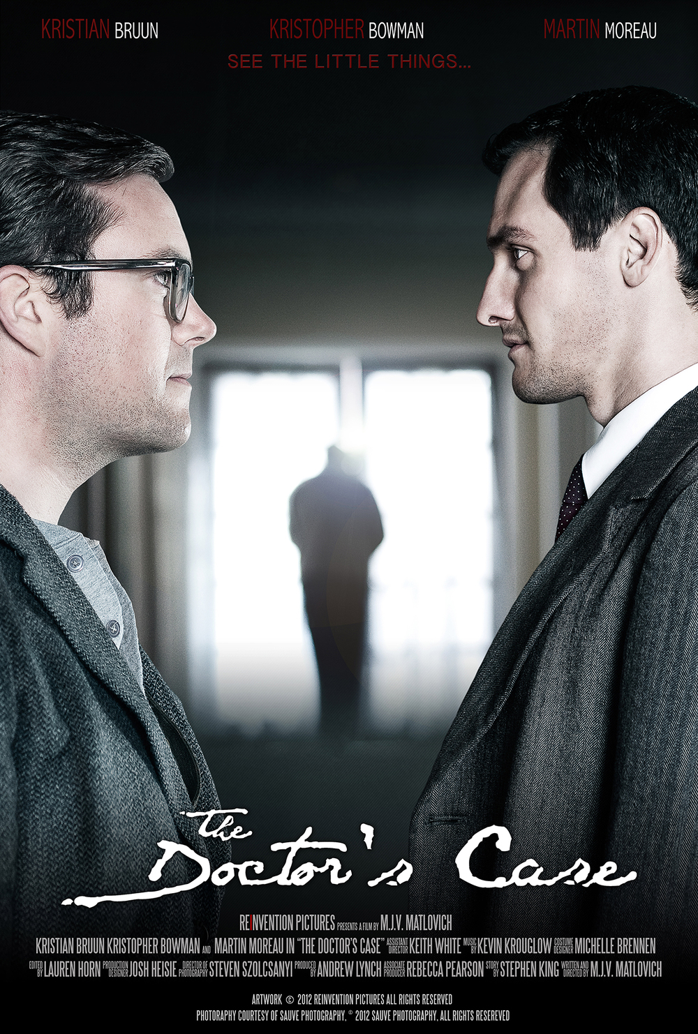 The Doctor's Case - Secondary Poster