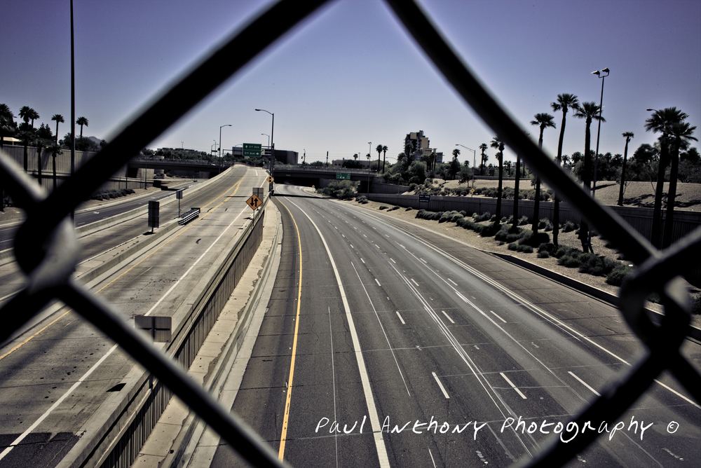 Phoenix, Arizona - Interstate 10  @ 7th Avenue (Deckpark Tunnel)