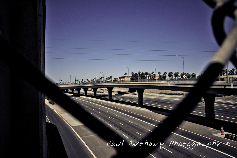 Phoenix, Arizona - Interstate 10  @ 5th Avenue Overpass