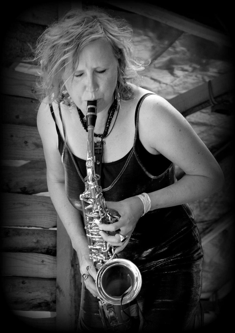 Spew - Sax, melodica, percussion