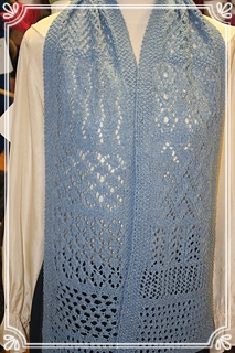 Learning Lace:  A Sampler Scarf